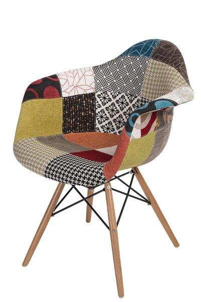stuhl p018w patchwork holzbeine m bel st hle. Black Bedroom Furniture Sets. Home Design Ideas