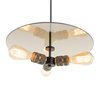 pendant light \ gold \ 3